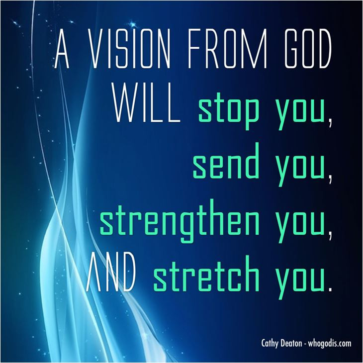 a vision from god will...
