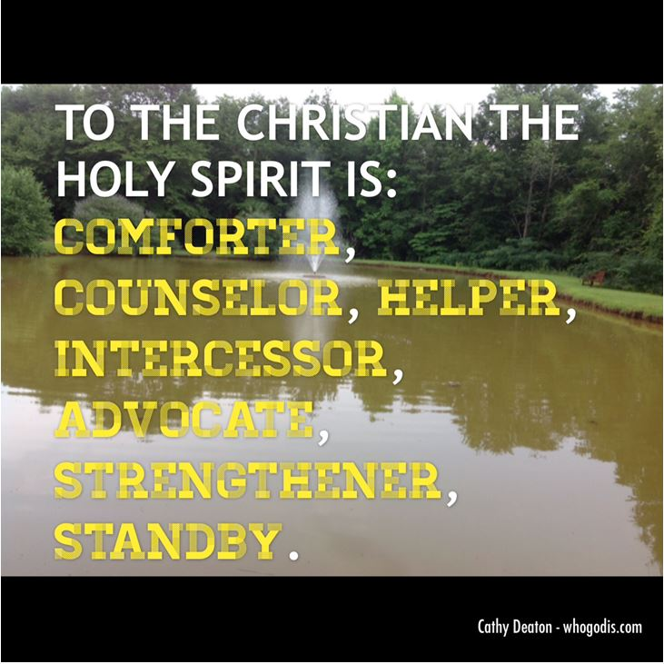 The Holy Spirit is..