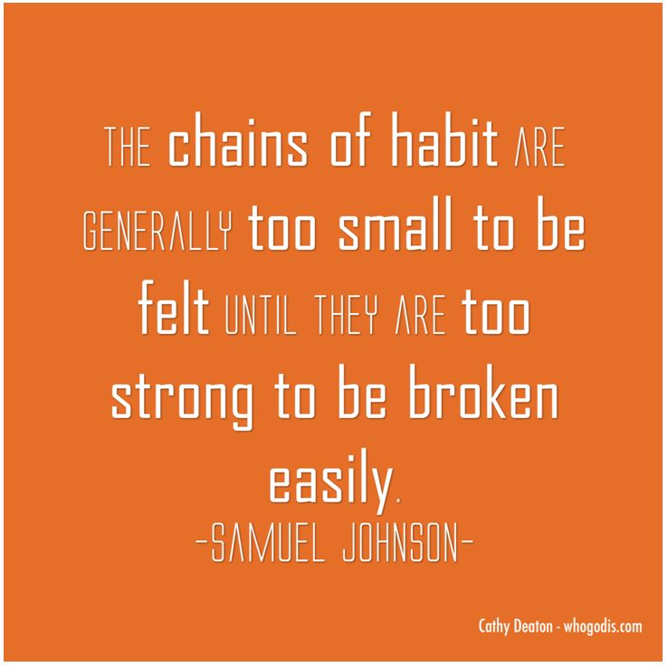 chains-of-bad-habit