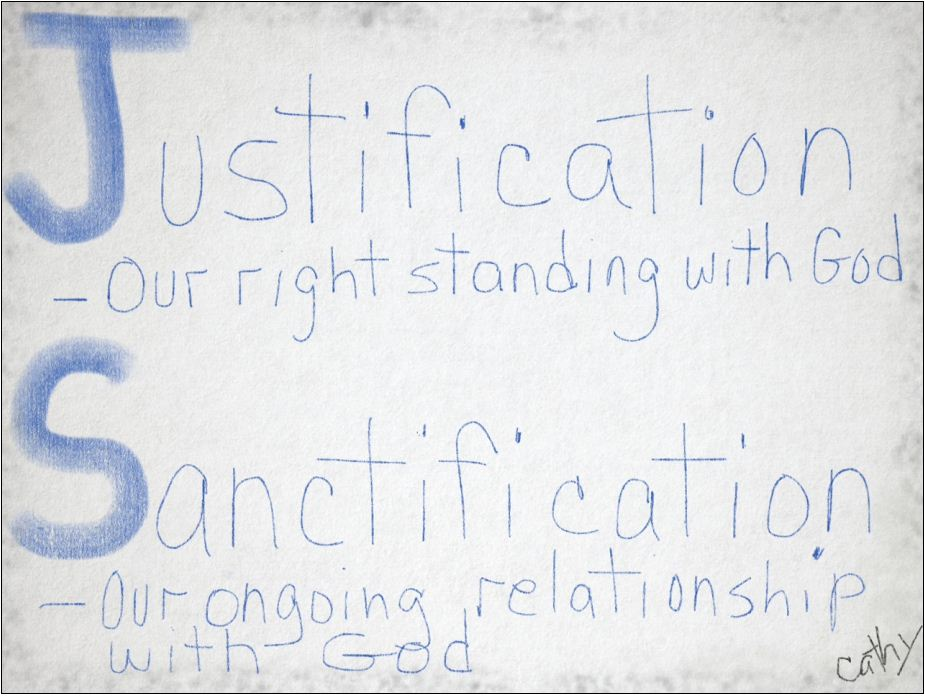 justification-sanctification