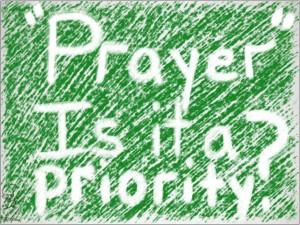 prayer-is-it-priority