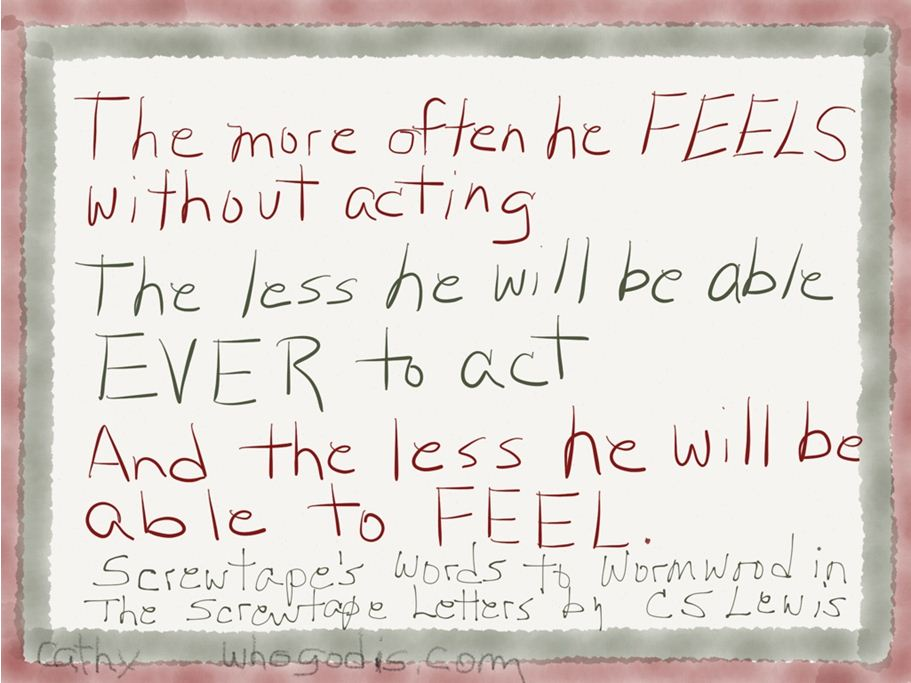 feel-without-acting