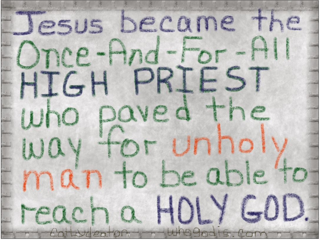jesus our great high priest